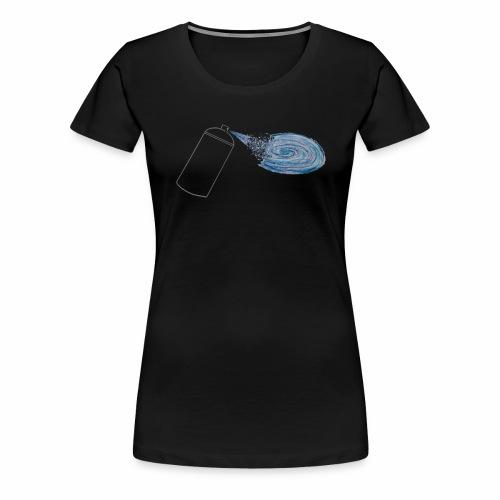 Tag your universe ! For black color - T-shirt Premium Femme