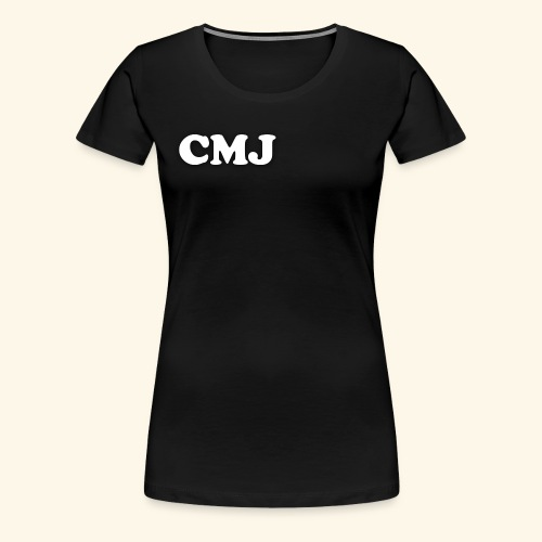 CMJ white merch - Women's Premium T-Shirt