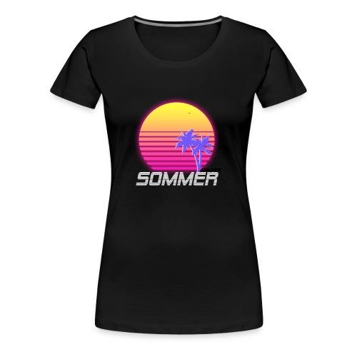 Sommer Logo - Frauen Premium T-Shirt