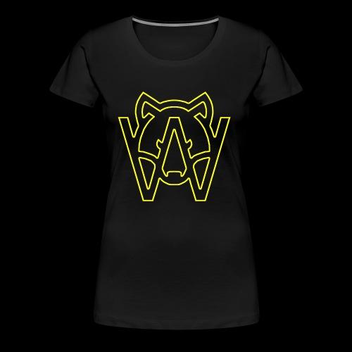 YELLOW - Camiseta premium mujer