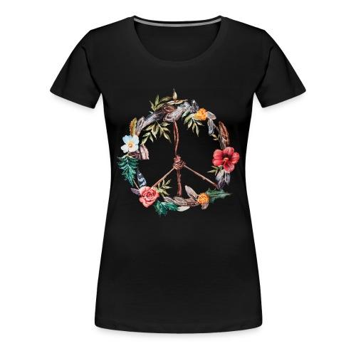 Peace - Maglietta Premium da donna