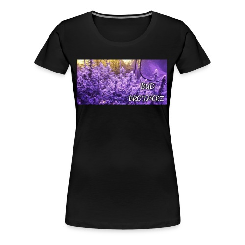 BUD BROTHERZ PURPLE JUNGLE - Women's Premium T-Shirt