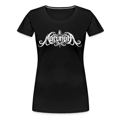 Marunata Logo - T-shirt Premium Femme