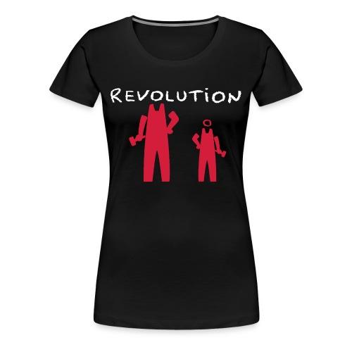 Revolution Time Again 2 - T-shirt Premium Femme