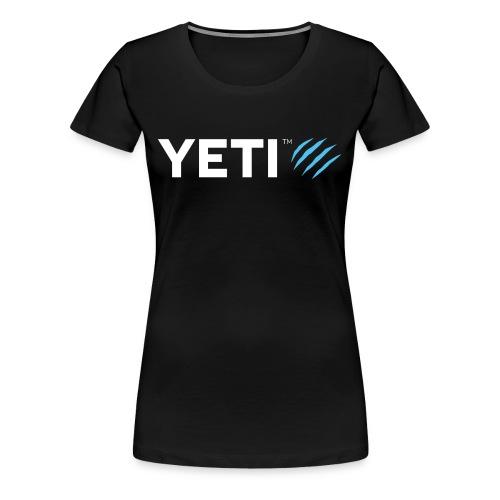 YETI TM Logo - Frauen Premium T-Shirt