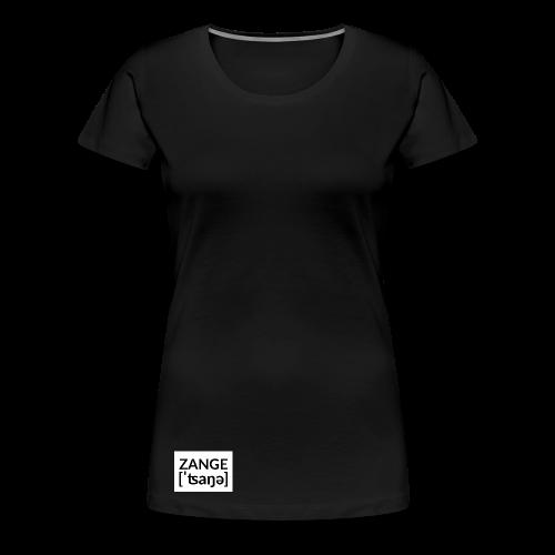 Kleine Zange Untenrum - Frauen Premium T-Shirt