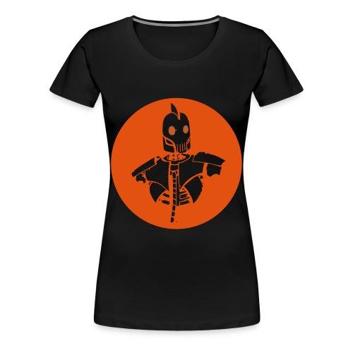 logo Robot steampunk - T-shirt Premium Femme