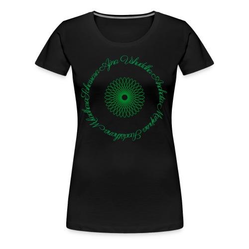 Les Chakras - T-shirt Premium Femme