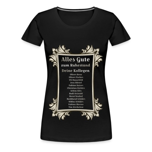 alles gute Titan - Frauen Premium T-Shirt