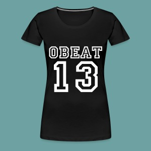 Obeat Limited Edition - Vrouwen Premium T-shirt
