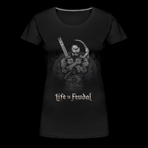 Life is Feudal Steam Badge 1 - T-shirt Premium Femme