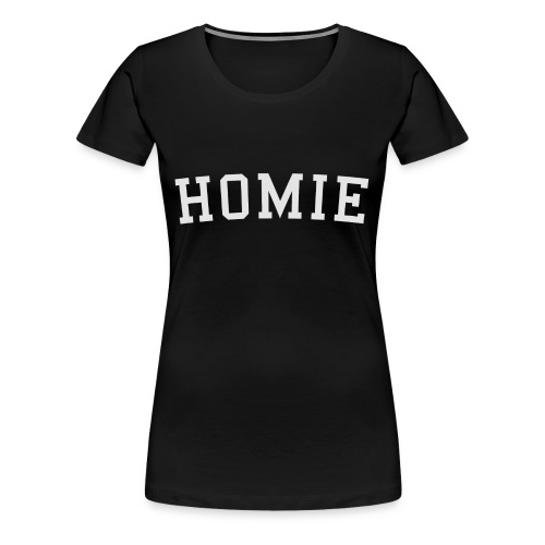 homierent logo white - Women's Premium T-Shirt