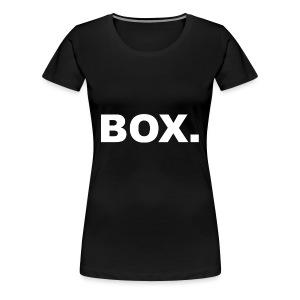 BOX. Clothing Crewneck Unisex - Vrouwen Premium T-shirt