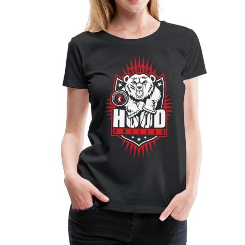 Baseball Bär Streetleague Hood Chiller Berlin - Frauen Premium T-Shirt
