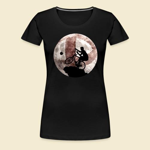 Radball | Cycle Ball Moon - Frauen Premium T-Shirt