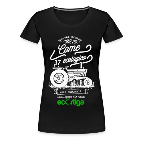 old tractor ecortiga white - Camiseta premium mujer