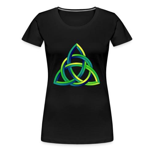 Keltischer Knoten Celtic Knot - Frauen Premium T-Shirt