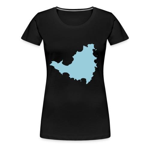SXM - Vrouwen Premium T-shirt