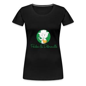 poules et débrouilles - T-shirt Premium Femme