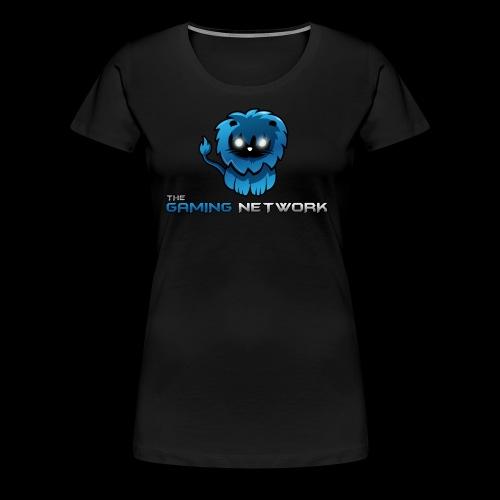 The Gaming Network - Frauen Premium T-Shirt