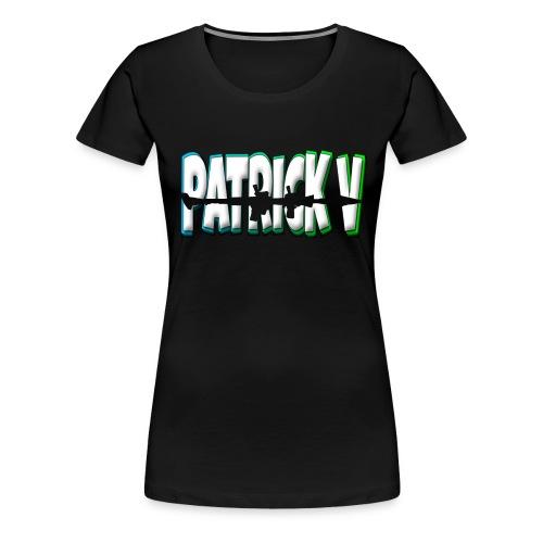 Patrick V Name - Women's Premium T-Shirt