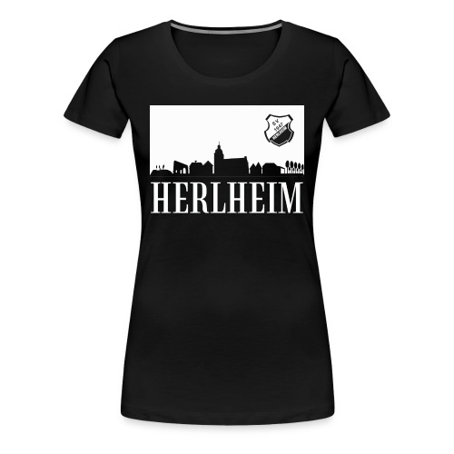 Skyline Print A4 - Frauen Premium T-Shirt