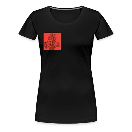 Rote Rosen - Frauen Premium T-Shirt