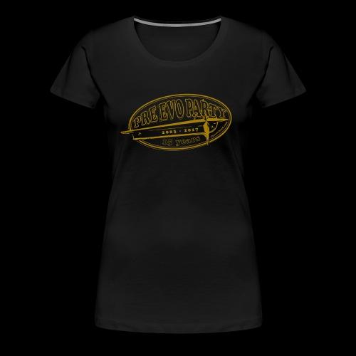 P.E.P. 2017 Ocker-Gold - Frauen Premium T-Shirt