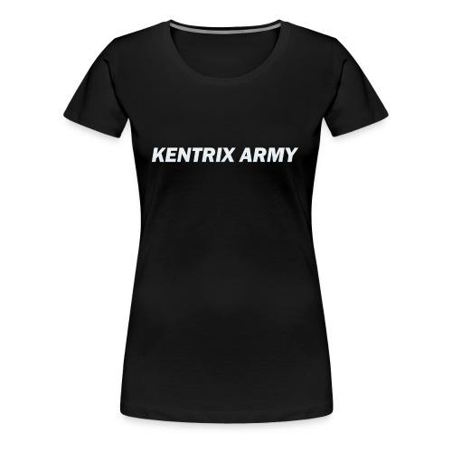 #KentrixArmy Logo - Women's Premium T-Shirt