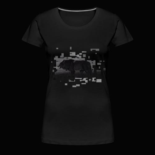 Böser großer Wolf Toveron - Frauen Premium T-Shirt