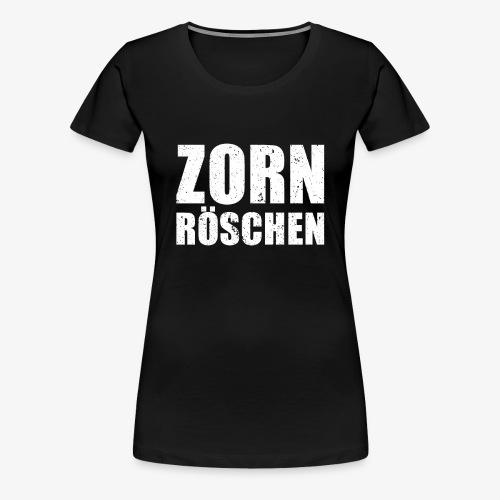 Zornröschen - Grunge - Frauen Premium T-Shirt