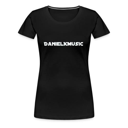 Inscription DanielKMusic - Women's Premium T-Shirt