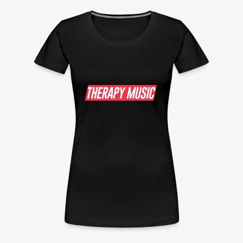 Therapy Music supremeish style - Women's Premium T-Shirt