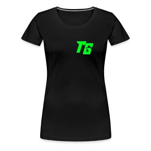 Tristan Jeux marchandises logo - T-shirt Premium Femme