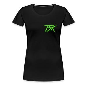 Minimum Design - Dame premium T-shirt