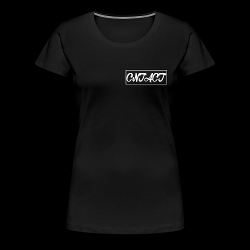 CNTACT White - Frauen Premium T-Shirt