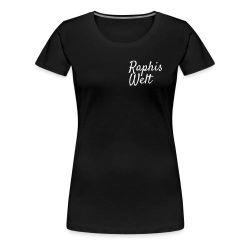 White Raphis Welt Branding - Frauen Premium T-Shirt