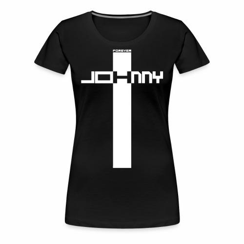 JOHNNY FOREVER H - T-shirt Premium Femme