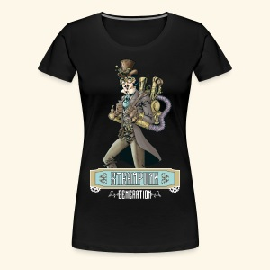 Steampunk Generation X - Camiseta premium mujer