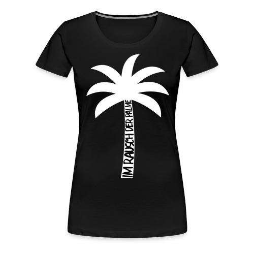 Palmen-Stamm-Slogan - Frauen Premium T-Shirt