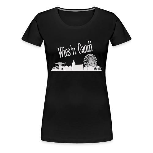 Skyline Kopie Kopie - Frauen Premium T-Shirt