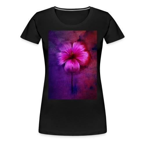 Tropical Hibiscus - Women's Premium T-Shirt