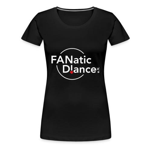 FD!e.V. Logo White - Frauen Premium T-Shirt