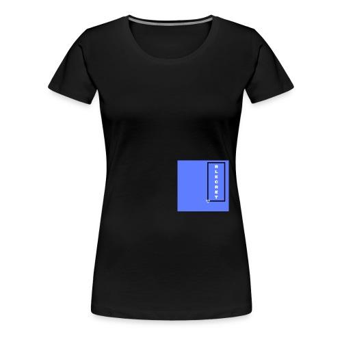 BLECRET - Blue - Women's Premium T-Shirt