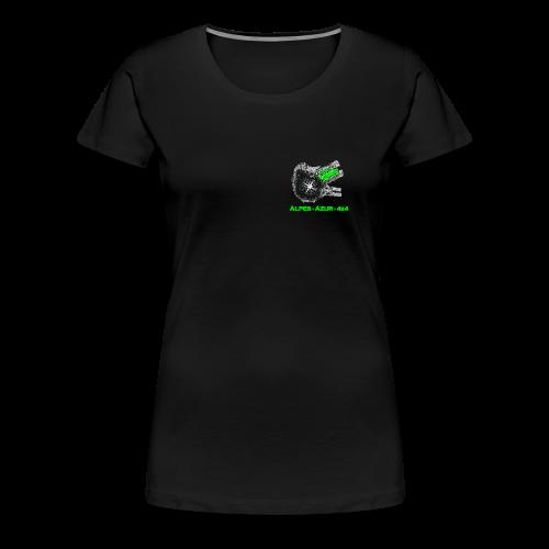 logo ALPES-AZUR-4X4 - T-shirt Premium Femme