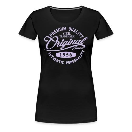 Original Since 1956 Handwriting Premium Quality - Frauen Premium T-Shirt