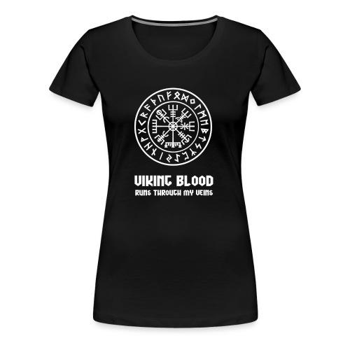 Wikinger Kompass - Nordisches Symbol - Frauen Premium T-Shirt
