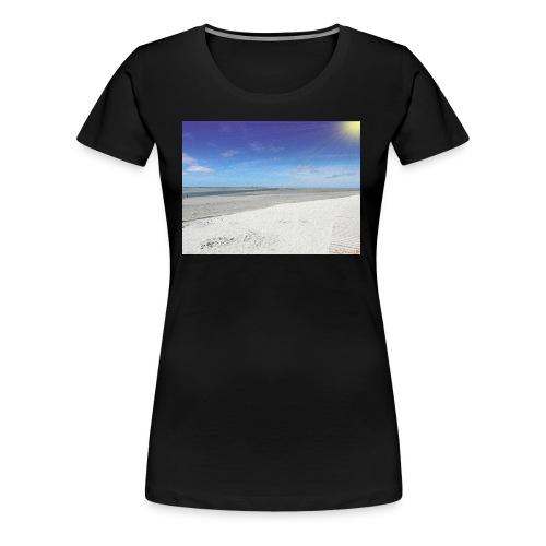 The Beach- La plage - T-shirt Premium Femme