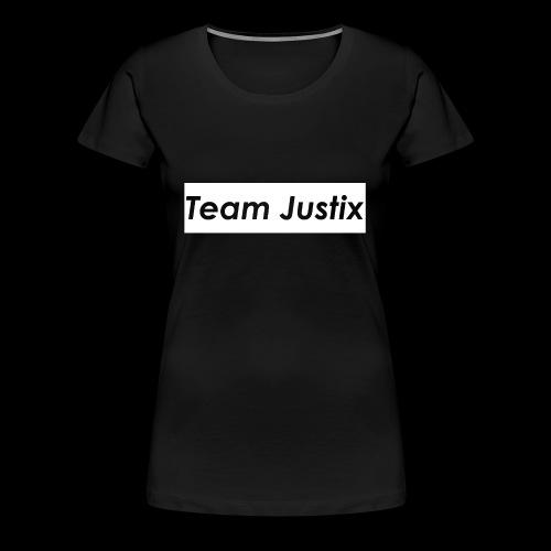 Team Justix im Supremestyle (weiß) - Frauen Premium T-Shirt
