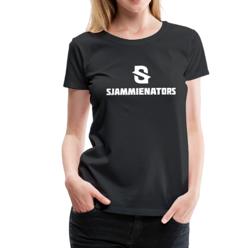 Sjammienators Wit - Vrouwen Premium T-shirt